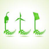 Ecologie concept — Stockvector