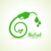 Bio fuel — Stock Vector