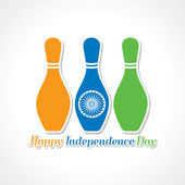 Happy independence banner — Stock Vector