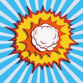 Comic comic book comic bubble comic background comic explosion comic bubbles comic strip comic art comic book art — Stock Vector