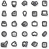 Sticker icon sticker label sticker vector sticker tag stickers set icon set icons icon collection — Stock Vector