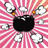 Comic Book Expressions Vector illustration Art — Stock Vector