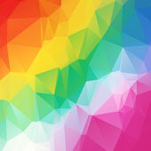 Polygon 3d Abstract background colorful vector illustration — Stock Vector