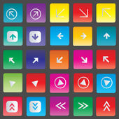 Icon set vector illustration — Stock Vector