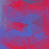 Abstrakt polygon bakgrund 3d färgglada vektor illustration — Stockvektor