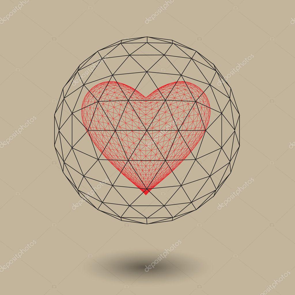 Geometric background 3d geometric abstract art geometric ...