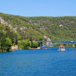 Krka river — Stock Photo