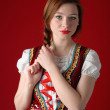 Stock Photo: Polish folk woman