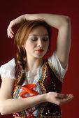 Mujer popular polaco — Foto de Stock