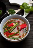 Surimi soup — Stock Photo