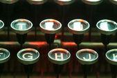 Vintage skrivmaskin — Stockfoto