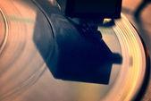 Vintage record player — Stock Photo