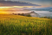 Miracle Tuscan countryside — Stock Photo