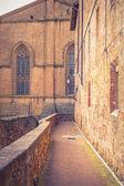Old Town Pienza, Tuscany between Siena and Rome — Zdjęcie stockowe