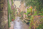 The old Etruscan town in northern Tuscany, Pitigliano, Italy. — Foto de Stock