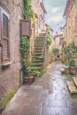 The old Etruscan town in northern Tuscany, Pitigliano, Italy. — Stockfoto