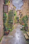 The old Etruscan town in northern Tuscany, Pitigliano, Italy. — 图库照片
