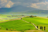 Valley of dreams, Orcia Valley. Tuscany, Italy — Stock Photo