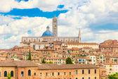 Panoramic view of Siena, Italy — Stock Photo