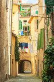 Twisted streets of Siena, Tuscany, Italy — Foto Stock