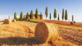 Spectacular views of the Tuscan landscape, Pienza, Italy — Stock Photo