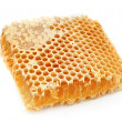 Stock Photo: Golden honeycombs