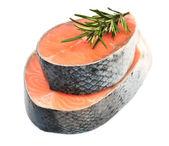 Piece of a salmon — Stock Photo