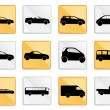 Car icon set 1 — Stock Vector #27580363