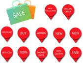 Icônes de vente 3 — Vecteur