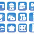 Kitchen icons 3 — Stock Vector