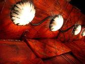 Sfondo rosso con texture — Foto Stock