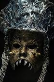 Gothic decorative mask — Stock Photo