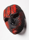 Red decorative mask — Stock Photo