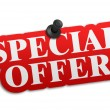Special offer — Stock fotografie