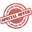 Special offer stamp — Stock Photo