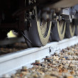 Railroad Wheels  — Stock Photo