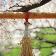 Spiritual Tassel — Stock Photo