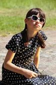 Graceful Girl Portrait — Stock Photo