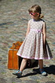 Little Mannequin Girl — Stock Photo