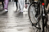 Bicycle Walkway — Stock Photo