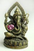 Brass Ganesha — Stock Photo