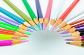 Color pencil isolated — Stock Photo