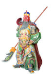 Statue Of Guan Yu (God of honor) — Stock Photo