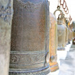Bells in Buddhism temple, Thailand — Foto de stock #40394369