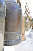 Bells in Buddhism temple, Thailand — Stock Photo