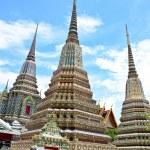 Ancient Pagoda or Chedi at Wat Pho, Thailand — Stock Photo #49082225