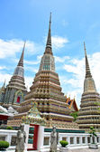 Ancient Pagoda or Chedi at Wat Pho, Thailand  — Stock Photo