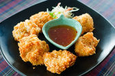 Deep fried Shrimp Cake (Tod Mun Kung) — Stock Photo