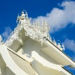 Famous white church in Wat Rong Khun, Chiang Rai province, north — Stock Photo