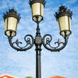 Vintage street lamp post — Stock Photo
